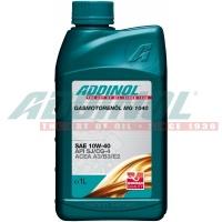 Полусинтетическое масло для газовых двигателей LPG/CNG. ADDINOL GASMOTORENÖL MG 1040:SAE 10W-40 1л