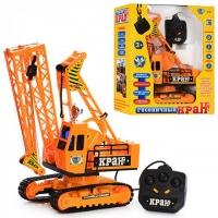 Кран игрушечный Limo Toy JT 9148 проводное управление, разворот 360|escape:'html'