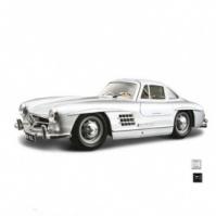 Автомодель - MERCEDES-BENZ 300 SL (1954) (ассорти красный, серебристый, 1:24) от Bburago - под заказ