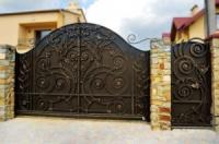Ворота въездные с ковкой|escape:'html'