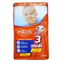 Підгузки Elkos Premium Midi 3, 4-9 кг (50 шт)|escape:'html'