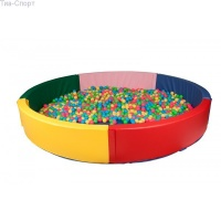 Сухой бассейн круглый 200*40 см Тia-sport|escape:'html'