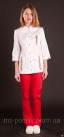 Медицинский костюм «Жасмин» медицынские халаты костюмы под заказ|escape:'html'