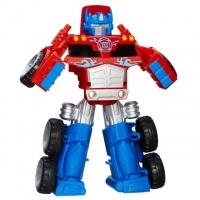 Deluxe Set Transformers Rescue Bots Optimus Prime with Trailer, Боты спасатели Большой Оптимус Прайм|escape:'html'