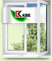 Окна металлопластиковые KBE
