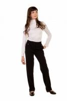 Школьные брюки для девочки Агата