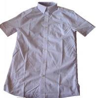 Мужская рубашка Geogre в клетку с коротким рукавом