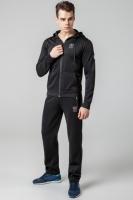 Спортивный костюм зимний с капюшоном Kiro Tokao - 439M черный|escape:'html'