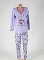 Женская пижама «Мишка» размеры 40-52|escape:'html'