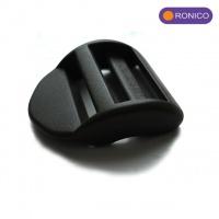 Пряжка-регулятор трехщелевая 25 мм (Standard Release Curved Lock) WOOJIN (черный)|escape:'html'