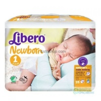 Подгузники Libero Newborn 1 от 2 до 5 кг 28 шт