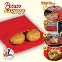 Мешочек для запекания картофеля в микроволновой печи Potato Express|escape:'html'