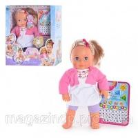 Интерактивная кукла Мила с планшетом Код:19979