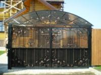 Ворота из поликарбоната Луцк escape:'html'