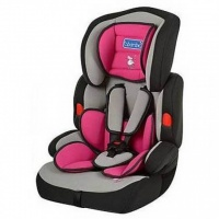 Автокресло для деток 9-36 кг 4275 серо-розовое|escape:'html'
