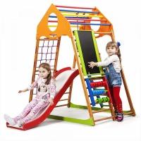 Детский спортивный комплекс для дома Sportbaby KindWood Plus 3|escape:'html'