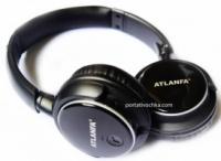 Наушники беспроводные Atlanfa Monster AT - 7612 с Bluetooth, MP3 плеером и FM