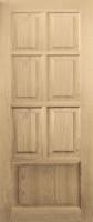 Дверное полотно глухое М 4 массив сосны высшего сорта|escape:'html'