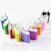 Зарядное устройство USB переходник-адаптер 220В 1А|escape:'html'