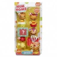 Набор ароматных игрушек NUM NOMS S2 - БУРГЕРМАНИЯ (6 намов, 2 нома, с аксессуарами, в ассортименте) от Num Noms - под заказ