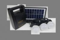 Внешний аккумулятор с солнечной батареей GD-LITE, GD-8066, с FM радио|escape:'html'