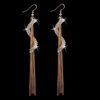 Серьги «Eufemia» позолоченные с кристаллами swarovski|escape:'html'