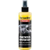Очиститель «Протектант» для винила, кожи, пластика, резины классический аромат Doctor Wax 236 мл.|escape:'html'