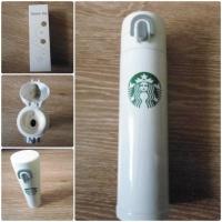 Термос Starbucks из нержавеющей стали термокружка 300мл белый