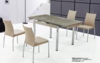 Стеклянные кухонные столы TB008-6 украина, раздвижные стеклянные столы для кухни TB008-6|escape:'html'