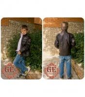 Куртка для мальчика «PU-кожа»