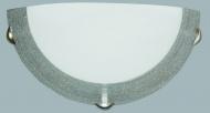 Настенно-потолочный светильник Декора Мираж, 1х60 вт, серебро, стеклянный матовый плафон, 5-24141-silver|escape:'html'