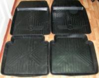 Резиновые коврики в салон автомобилей (универсальные)