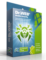 Dr.Web Mobile Security. 1 КПК/1 год escape:'html'