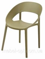 Кресло пластиковое Шелл зеленый чай, модное современное кресло escape:'html'