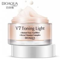 BioAqua V7 Toning Light корректирующая основа под макияж (натуральный)