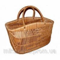 Плетенная сумка корзина из лозы escape:'html'