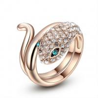 Кольцо женское «Змея» ITALINA