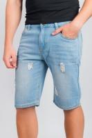 Модные мужские шорты AG-0003865 Голубой