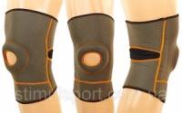 Наколенник (фиксатор коленного сустава) с открытой коленной чашечкой (1шт) GS-650 (р-р S-M, L-XL)|escape:'html'
