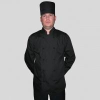Комплект мужской, поварской, черный костюм повара|escape:'html'