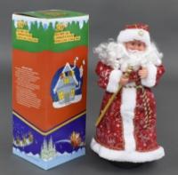 Дед Мороз музыувльный, в коробке, 47 см