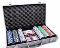 Покерный набор в алюминиевом кейсе 300 фишек escape:'html'