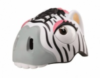 Детский защитный шлем Crazy Safety «Зебра» new