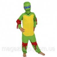 Маскарадный костюм Черепашки Ниндзя детский Код:342-32316109
