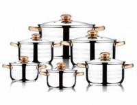 Набор посуды WELLBERG 12 пр.|escape:'html'