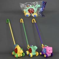 Каталка 0330-0333 (72) «Животные» на палочке, с погремушкой, 3 вида, в кульке|escape:'html'