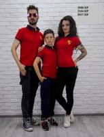 FAMILY LOOK Футболка мама+папа+ребенок Женская футболка 2104 НР Код:536539679