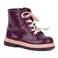 Ботинки из натуральной кожи на девочку  24|escape:'html'