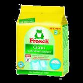 Стиральный порошок-концентрат с отбеливателем для белого белья Frosch «Цитрус» 1,35кг escape:'html'