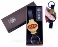 USB зажигалка-брелок в подарочной упаковке «KIA» (Спираль накаливания) №4356-3 Код:627504457|escape:'html'